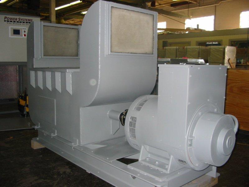 Industrial Motor Generator