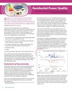ElectroIndustry Article - Residential Power Quality_Page_1