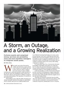 A Storm, an Outage, and a Growing Realization