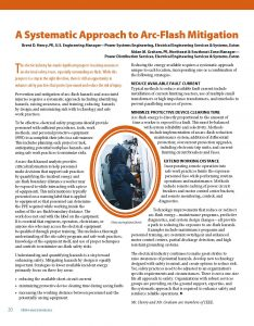 ElectroIndustry Article - Arc Flash