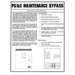 PS&C Maintenance Bypass
