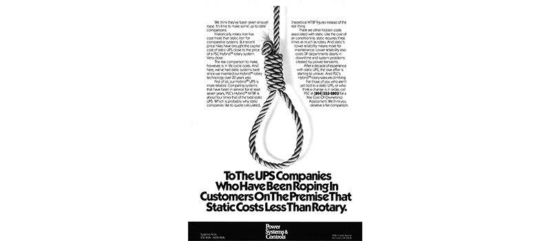PS&C Ad 1987